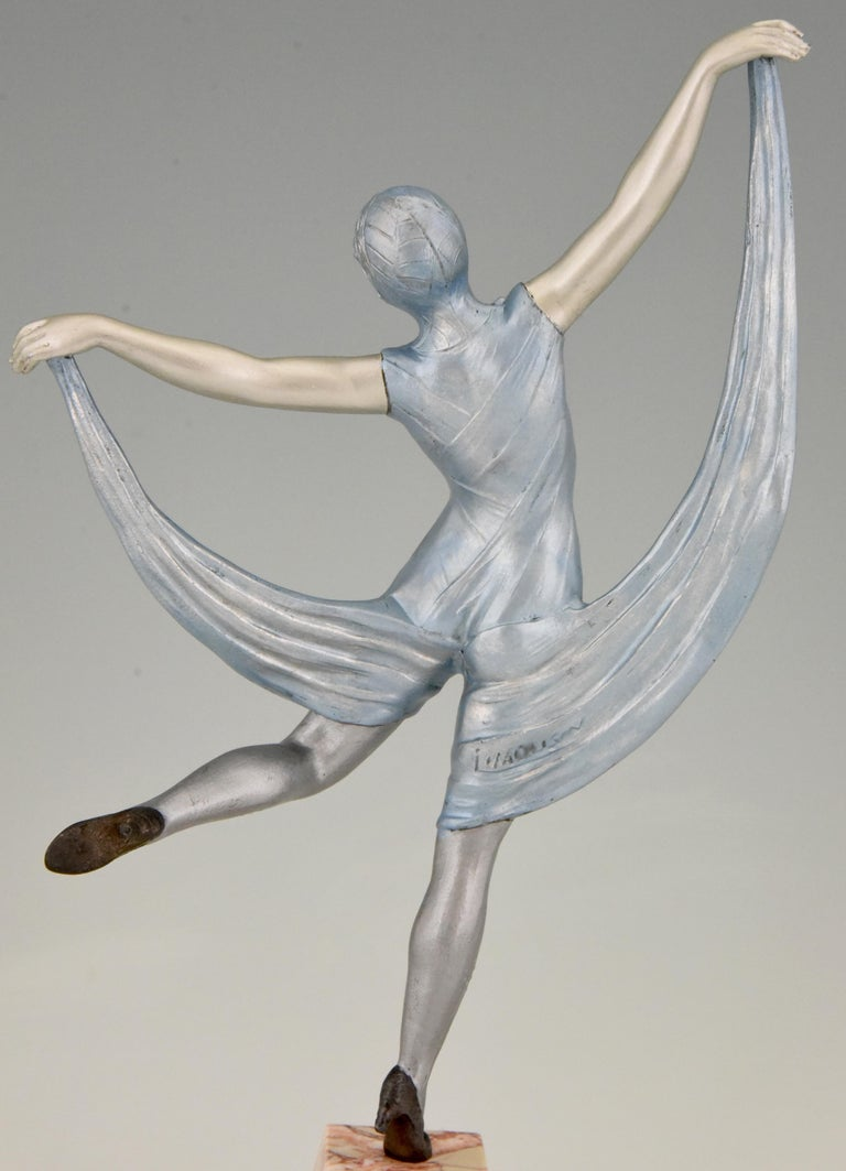 Art Deco Sculpture of a Dancer Limousin, France, 1930 For Sale 2