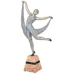 Art Deco Sculpture of a Dancer Limousin, France, 1930