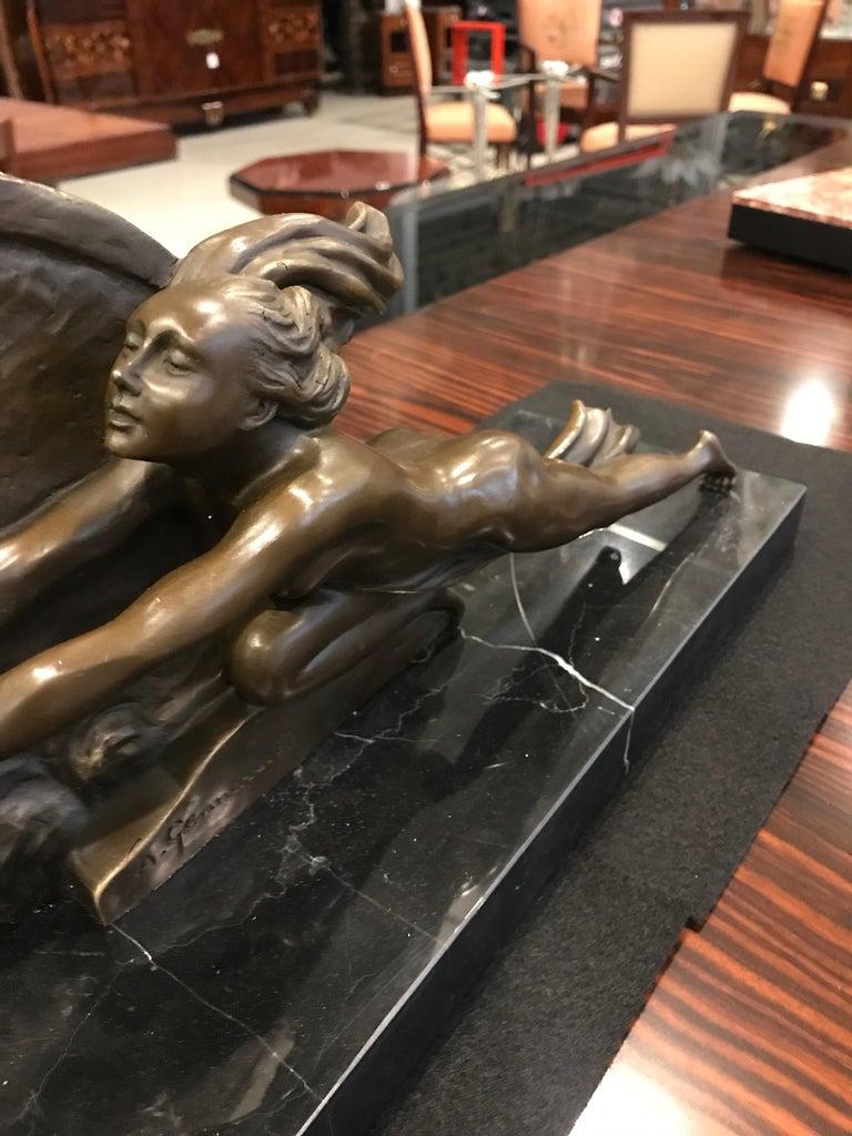 Bronze Art Deco Sculpture