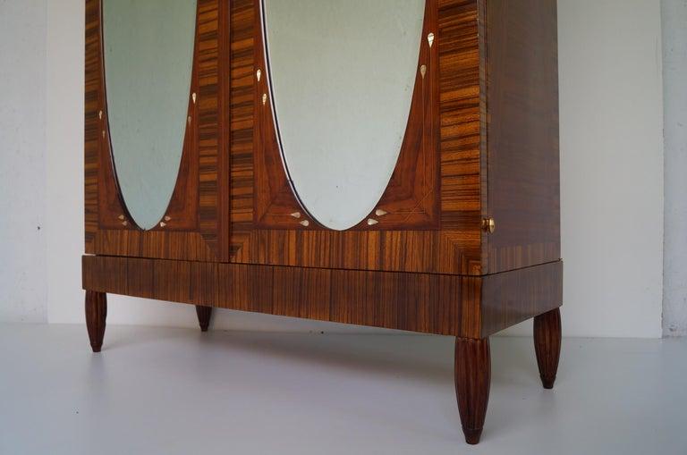 Art Deco Secesja Wardrobe from 1900-1910 For Sale 5