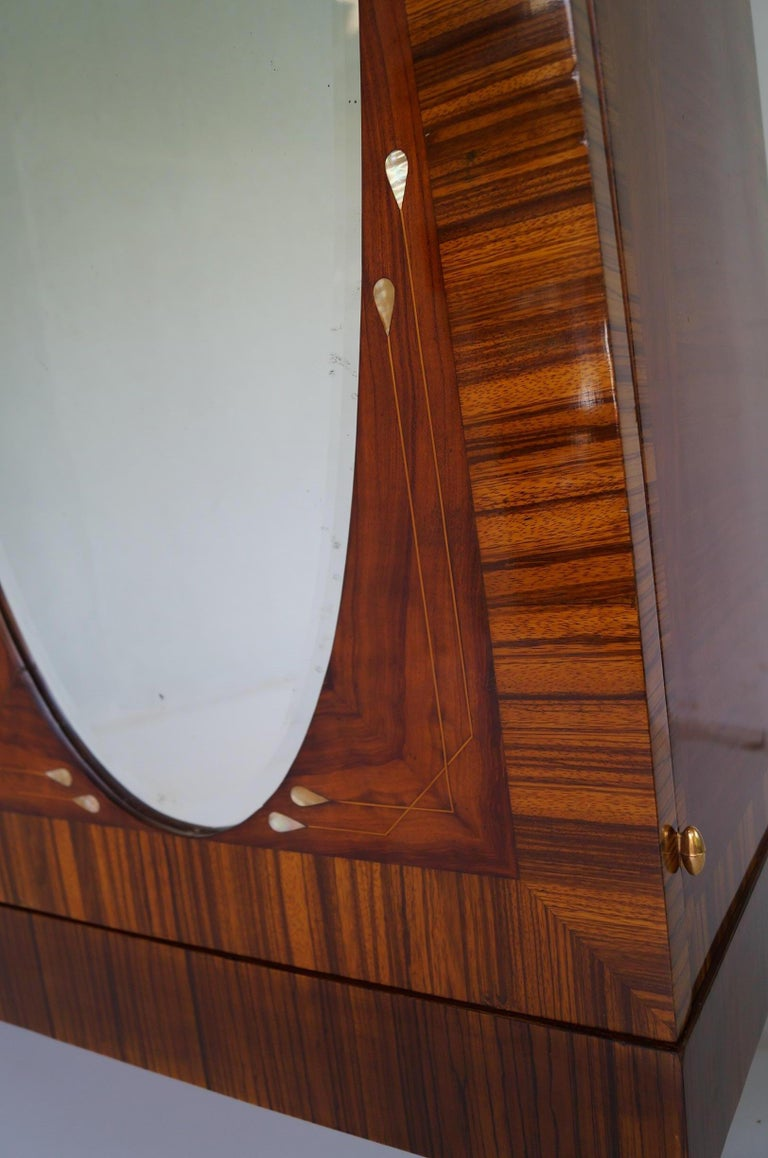 Art Deco Secesja Wardrobe from 1900-1910 For Sale 8