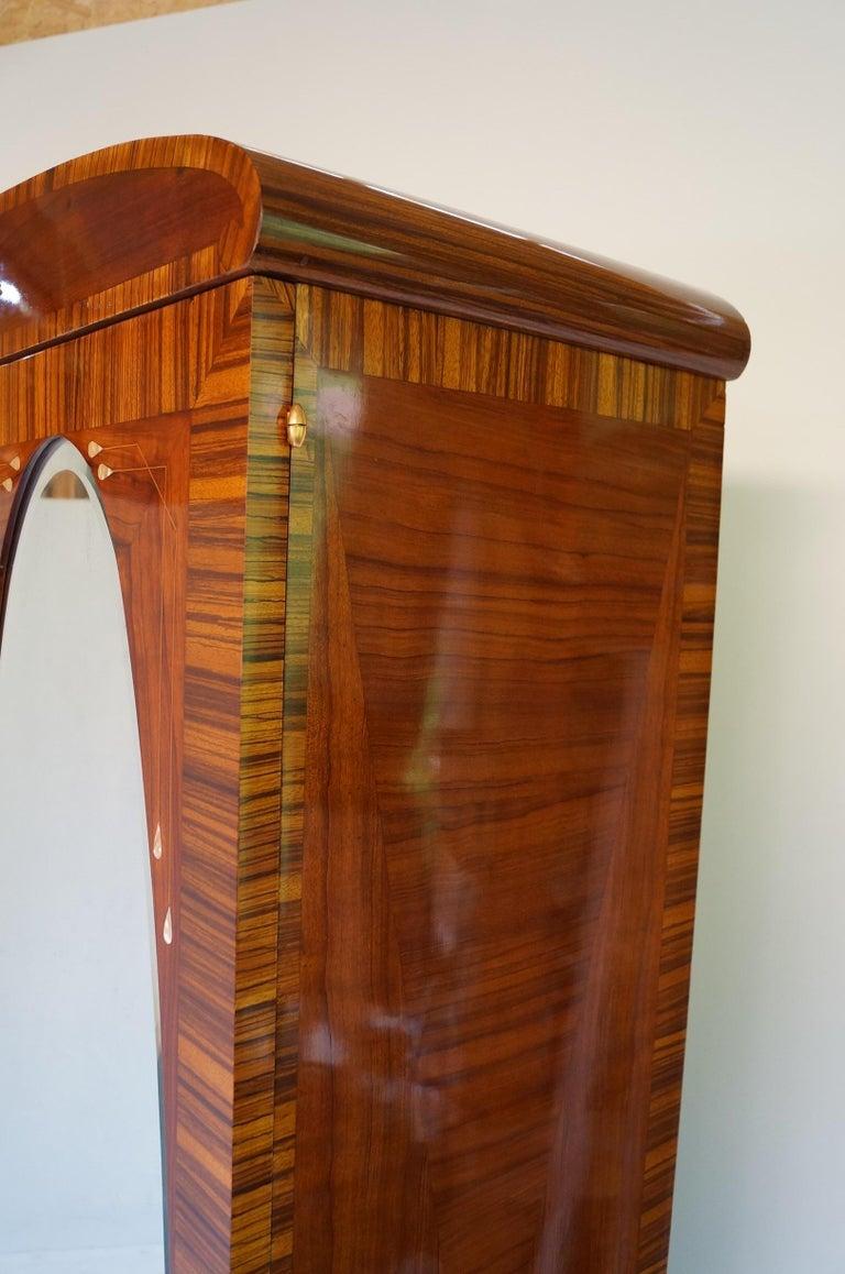 Art Deco Secesja Wardrobe from 1900-1910 For Sale 10