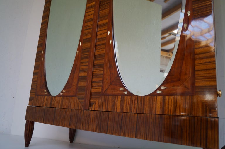 Art Deco Secesja Wardrobe from 1900-1910 For Sale 13