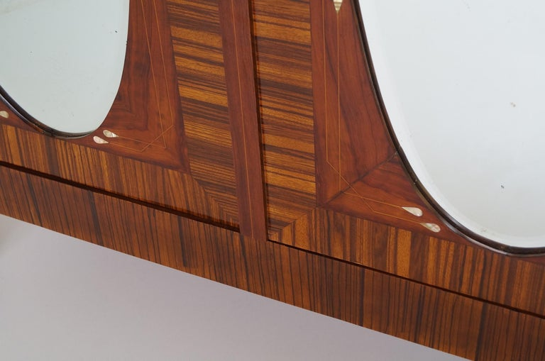 French Art Deco Secesja Wardrobe from 1900-1910 For Sale