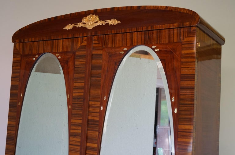 Art Deco Secesja Wardrobe from 1900-1910 For Sale 2