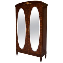 Art Deco Secesja Wardrobe from 1900-1910
