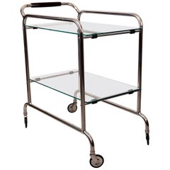 Art Deco Serving Cart 1920s Attributed to Thonet