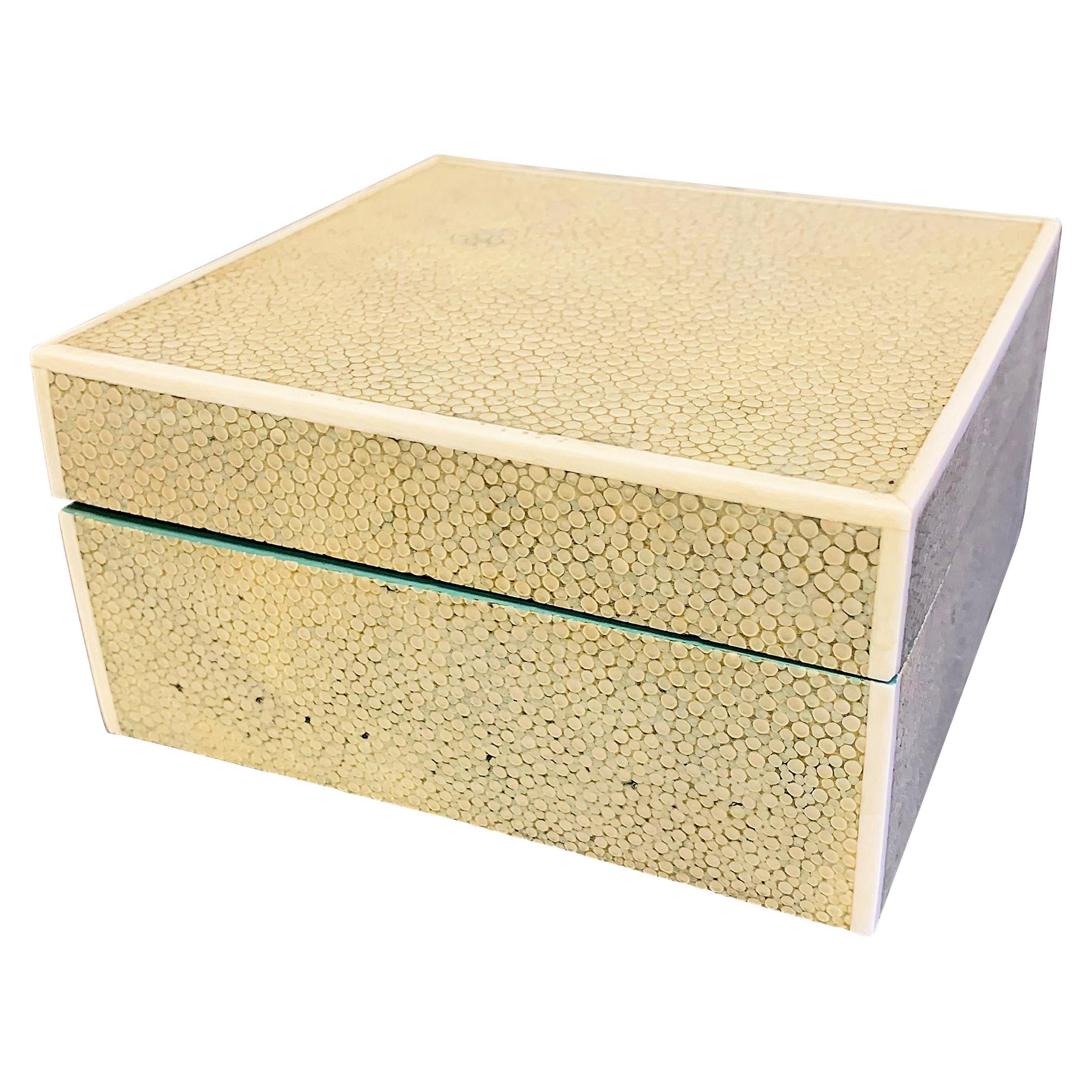 Art Deco Shagreen Box by Asprey, England