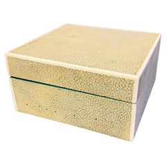 Art Deco Shagreen Box by Asprey, England