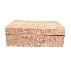 Art Deco Shagreen Box with Ivory Border
