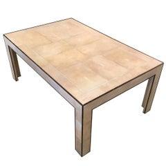 Art Deco Shagreen Coffee Table