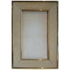 Art Deco Shagreen Photograph Frame, c. 1925