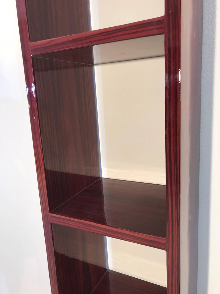 Hand-Crafted Art Deco Shelf Made of Palisander For Sale