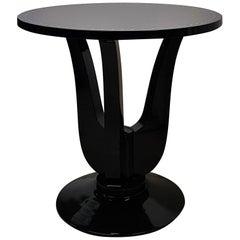 Art Deco Side Cocktail Table Macassar