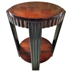 Art Deco Side Coffee Table, France, 1935