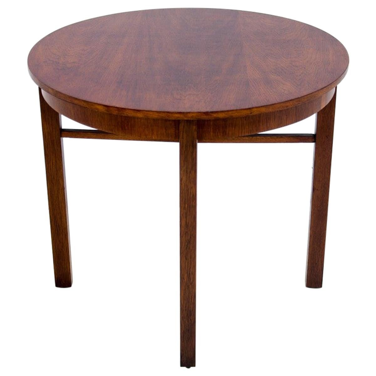 Art Deco Side Coffee Table from 1950s