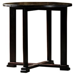 Art Deco Side or Coffee Table with Simple, Classic Design