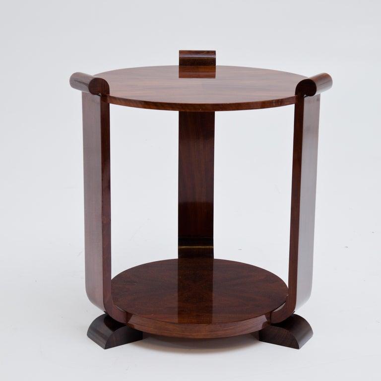 European Art Deco Side Table, 1920s For Sale