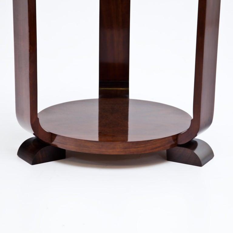 Veneer Art Deco Side Table, 1920s For Sale