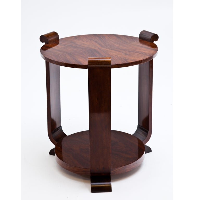 Art Deco Side Table, 1920s In Good Condition For Sale In Greding, DE