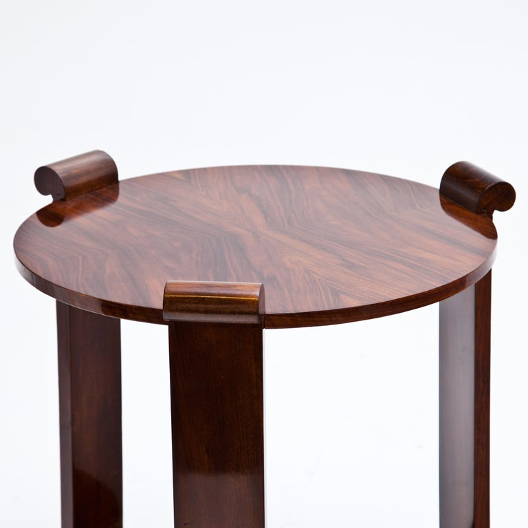 Early 20th Century Art Deco Side Table, 1920s For Sale