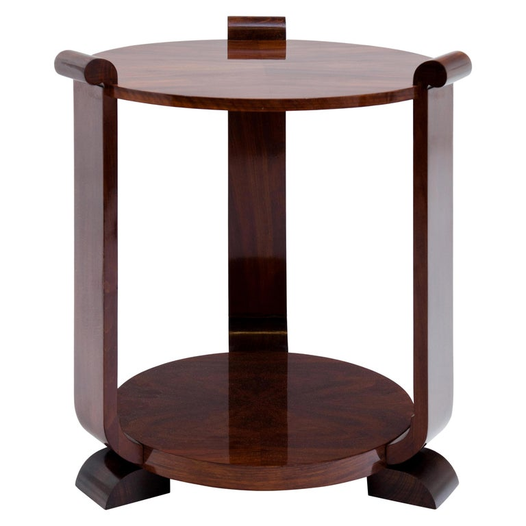 Art Deco Side Table, 1920s For Sale