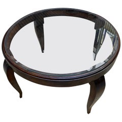 Art Deco Side Table, French Work, 1950