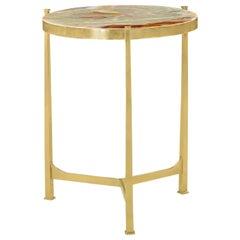 Art Deco Side Table, Onyx