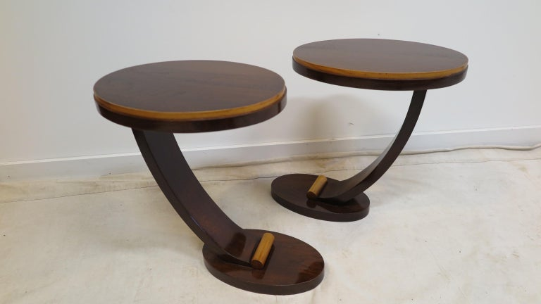 American Art Deco Side Tables For Sale