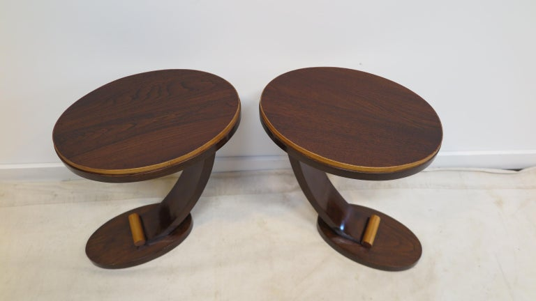 Art Deco Side Tables In Good Condition For Sale In New York, NY