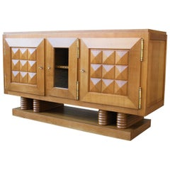 Art Deco Sideboard by Gaston Poisson, 1930s
