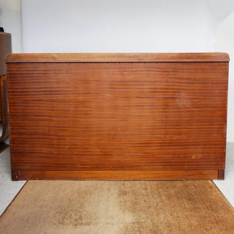 Art Deco Sideboard by Harry & Lou Epstein Burr & Figured Walnut, Circa 1935 For Sale 12