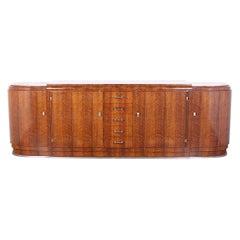 Art Deco Sideboard by 'Jules Leleu'