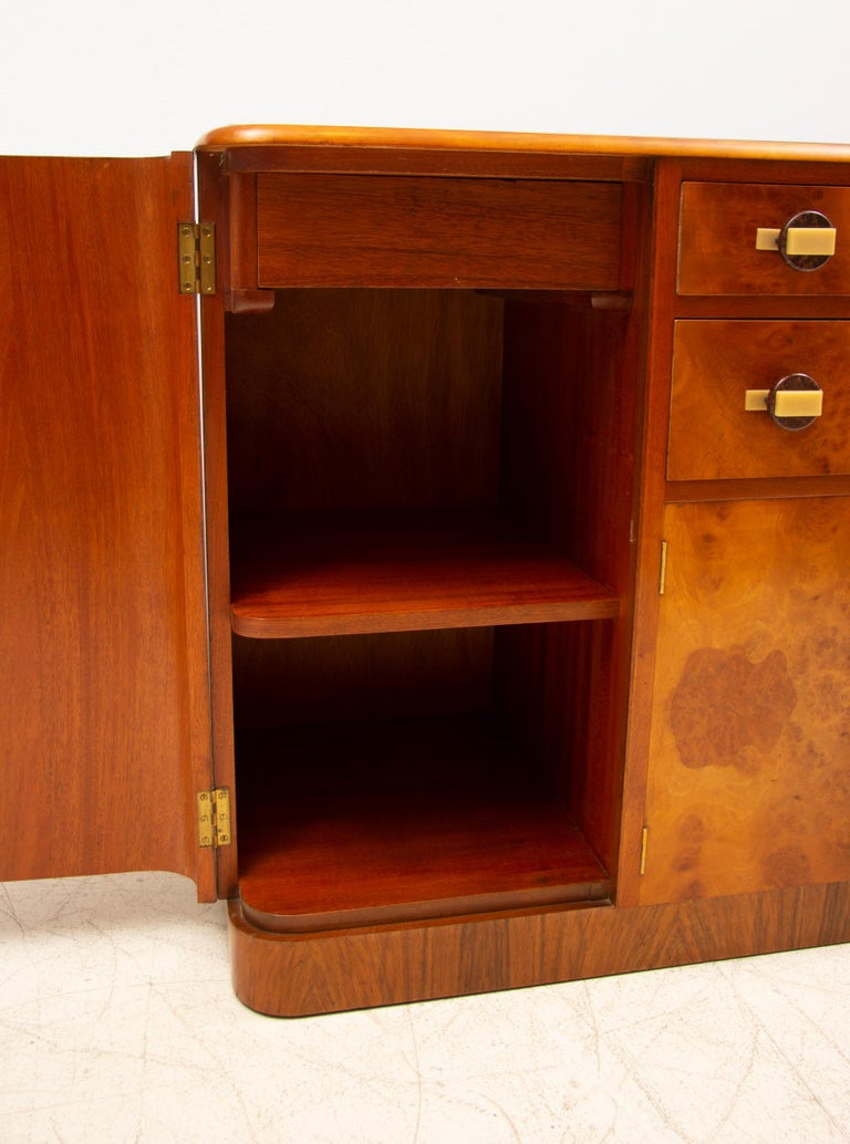 Art Deco Sideboard Credenza from Ireland For Sale 4