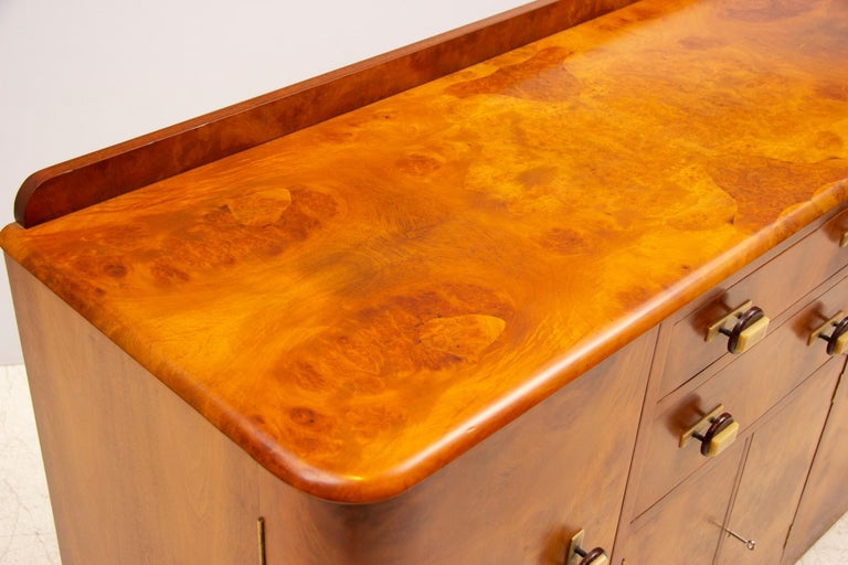 Art Deco Sideboard Credenza from Ireland For Sale 6