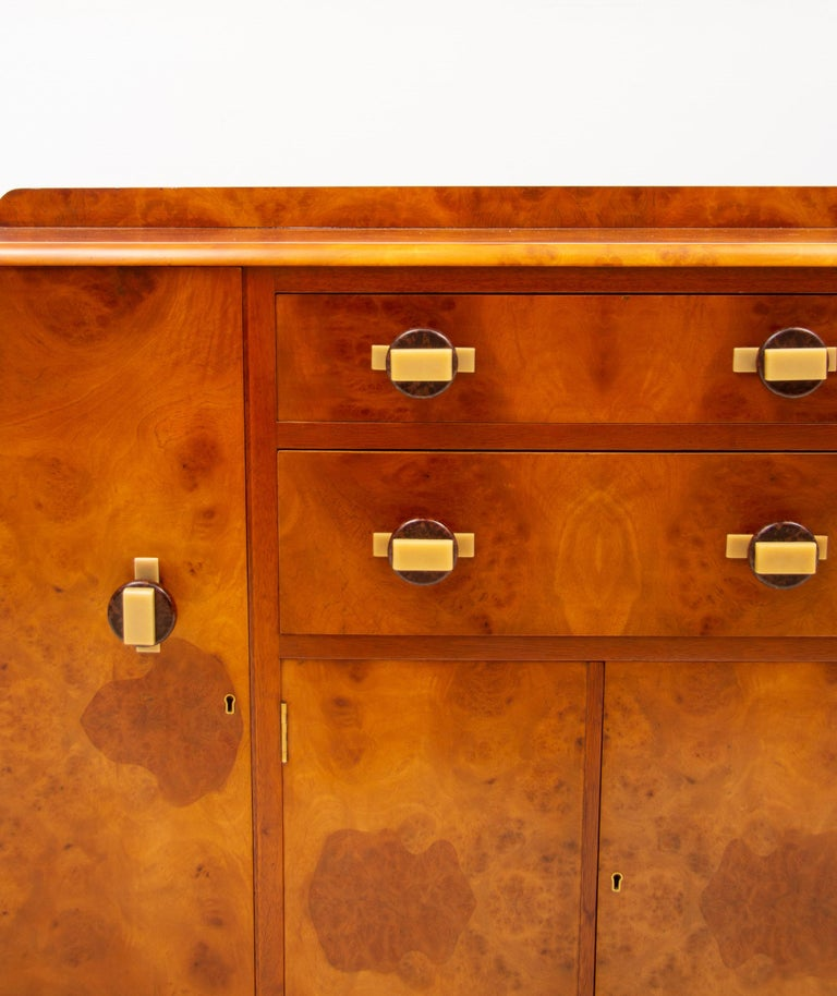 20th Century Art Deco Sideboard Credenza from Ireland For Sale