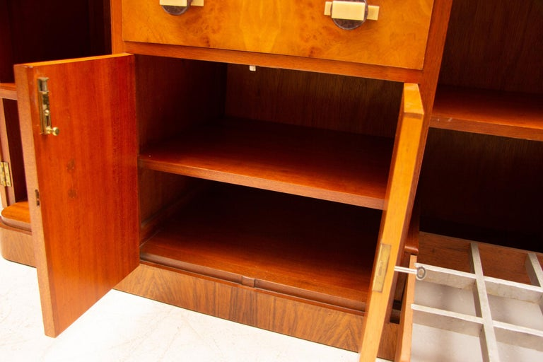Art Deco Sideboard Credenza from Ireland For Sale 1