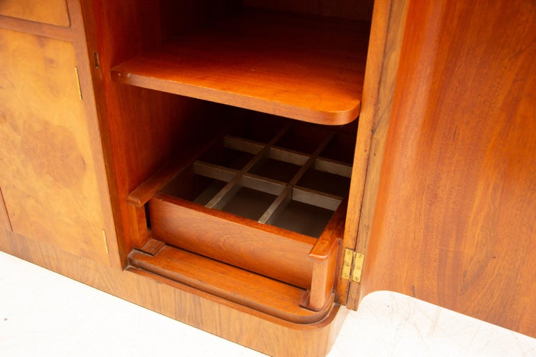 Art Deco Sideboard Credenza from Ireland For Sale 2