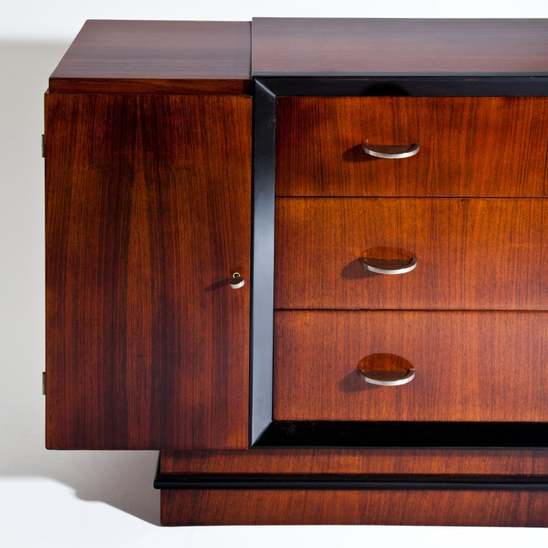 Art Deco Sideboard, France, circa 1940 In Good Condition For Sale In Greding, DE