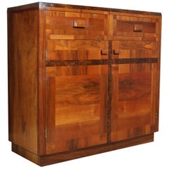 Art Deco Sideboard in Walnut, circa 1930
