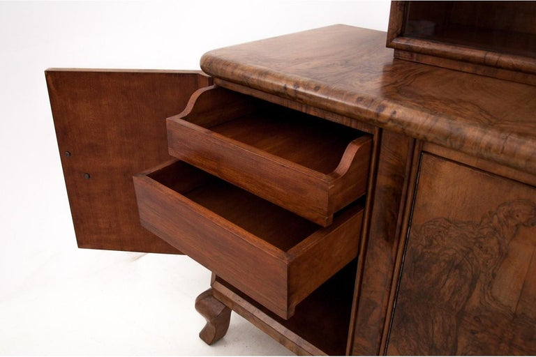 Art Deco Sideboard, Poland, 1930s For Sale 4