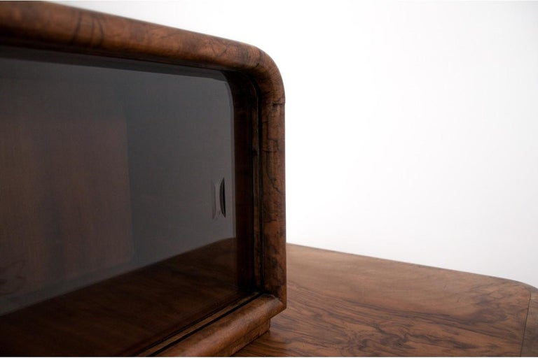 Art Deco Sideboard, Poland, 1930s For Sale 2