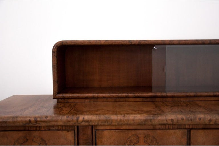 Art Deco Sideboard, Poland, 1930s For Sale 3