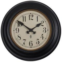 Art Deco Siemens Factory, Station or Workshop Wall Clock