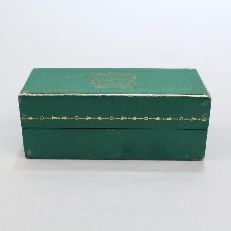Art Deco Signed Cartier 14 Karat