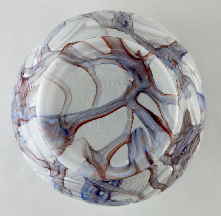 Art Glass Art Deco Signed Scailmont HH Bouquetiers by Henri Heemskerk, 1886-1953 For Sale