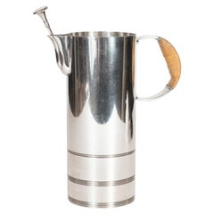 Art Deco Silver Plate Pitcher by Lurelle Guild for The International Silver Co.