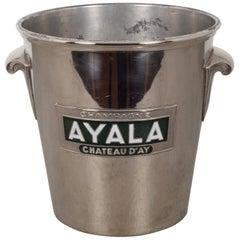 Art Deco Silver Plated Champane Bucket, circa 1930