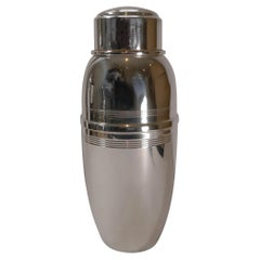 Art Deco Silver Plated Cocktail Shaker by C S Green & Co., c.1930