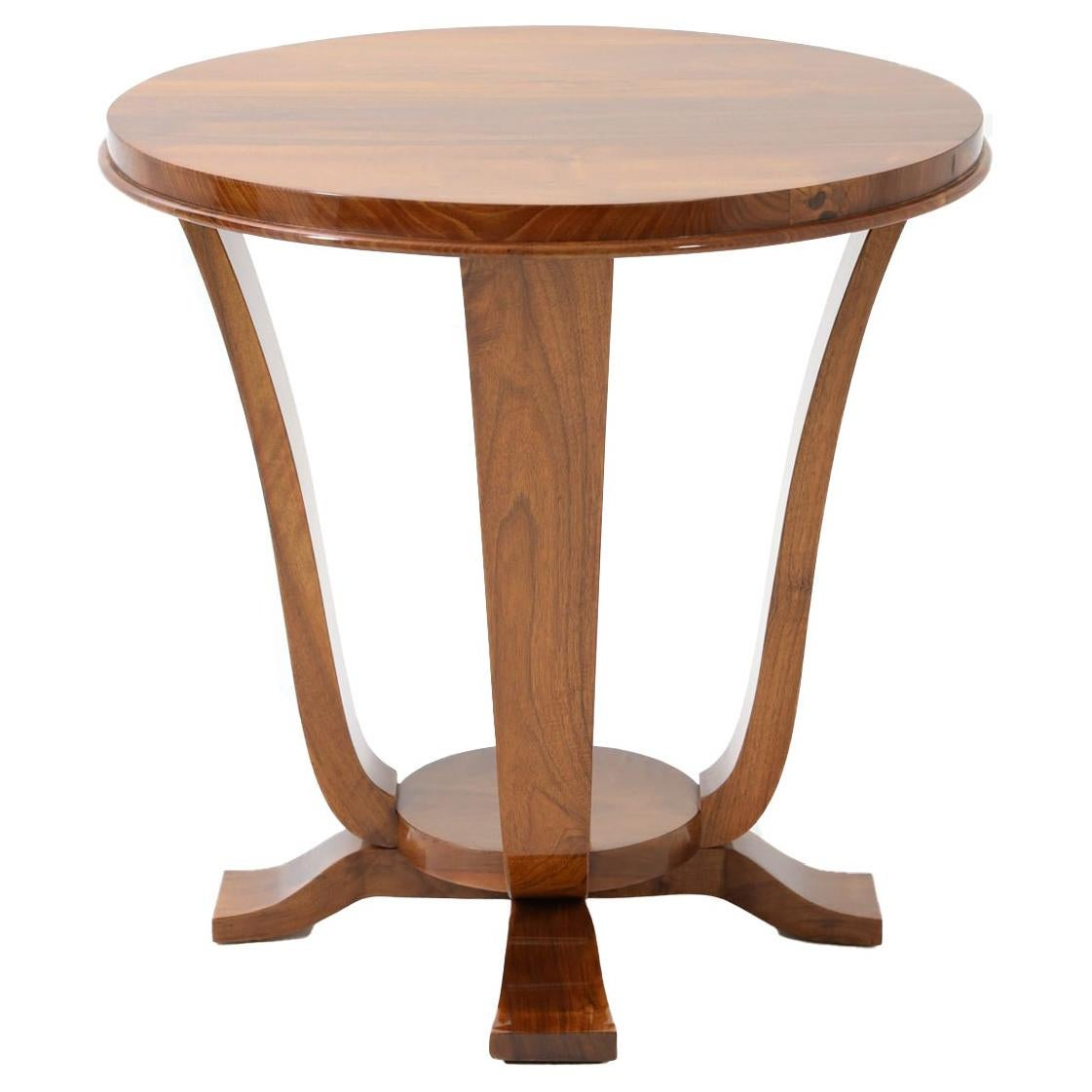 Art Deco Single Round Side Table